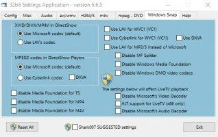 Standard Codecs for Windows 7 and 8 Скриншот 5