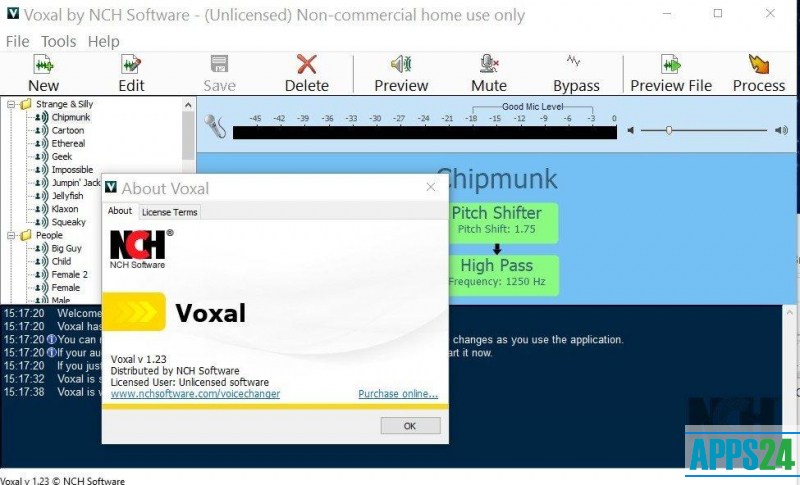 Voxal crack 1 25 | Voxal Voice Changer Free Download Plus