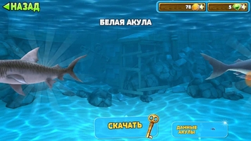Hungry Shark Evolution Скриншот 11